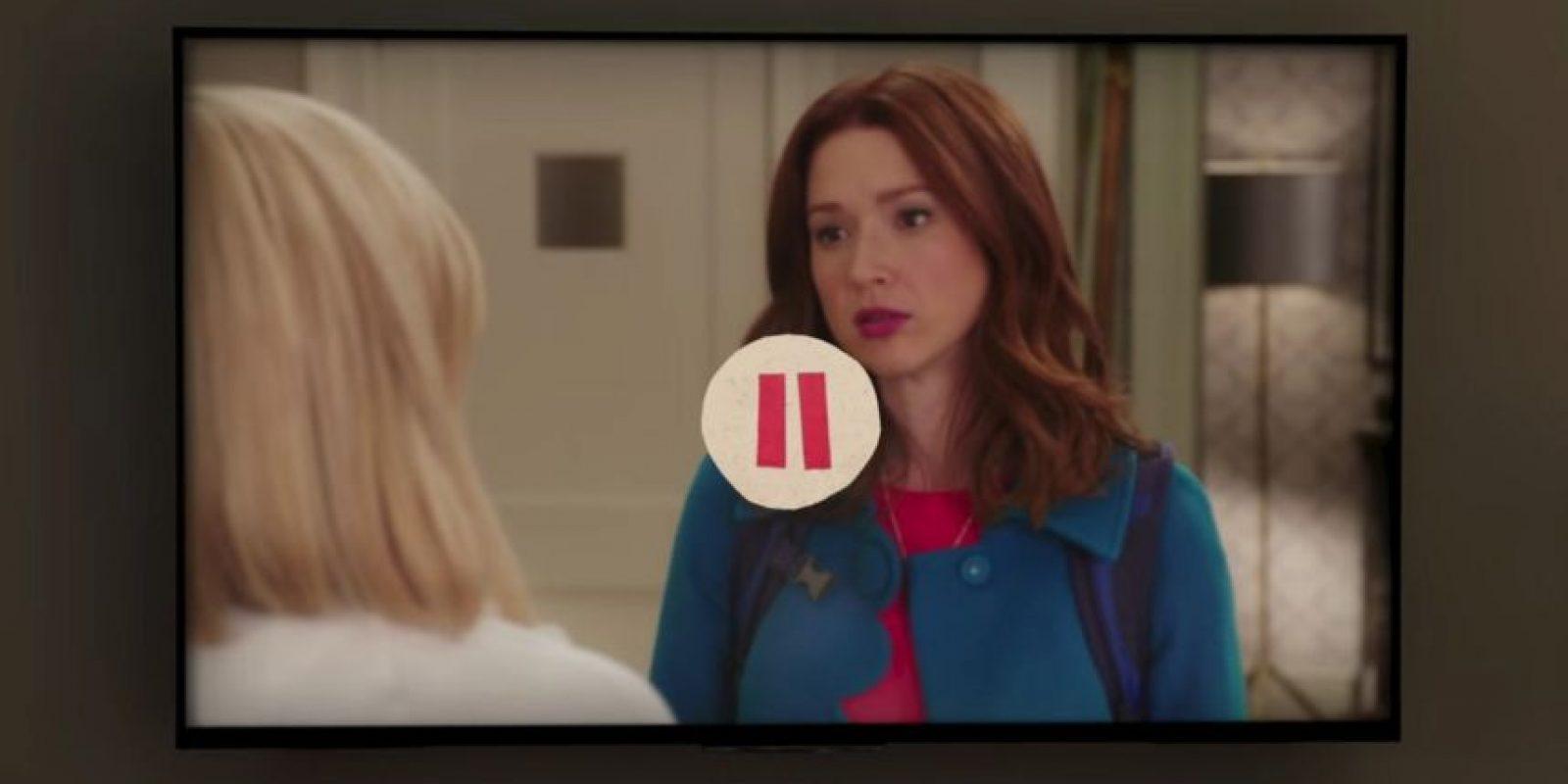 En ese momento pausan el episodio, película o documental que estaban viendo. Foto:Netflix