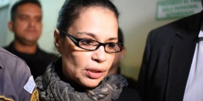 Ex vicepresidenta Roxana Baldetti pasará la Navidad, el Año Nuevo y el Día de Reyes en sanatorio