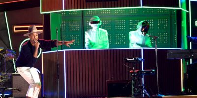 Get Lucky de Daft Punk (ft. Pharrell) Foto: Getty Images