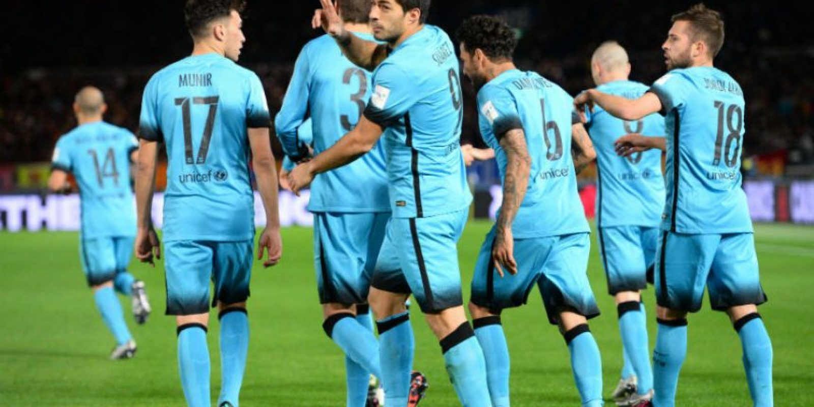 3. Barcelona es, junto a Corinthians, el máximo ganador del torneo con dos estrellas (2009 y 2011) Foto:Getty Images
