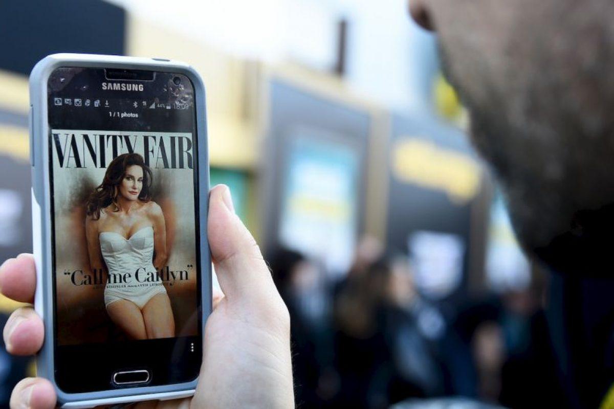Caitlyn Jenner, mejor conocida como Bruce Jenner con anterioridad, ocupa la primera posición en la lista de las personas más fascinantes de 2015. Foto:Getty Images