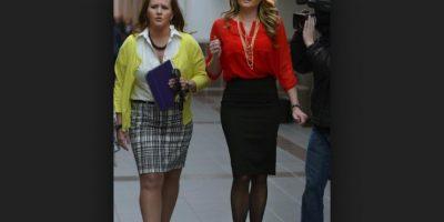 Brianne Altice fue acusada de tener relaciones sexuales con tres alumnos. Foto:AP