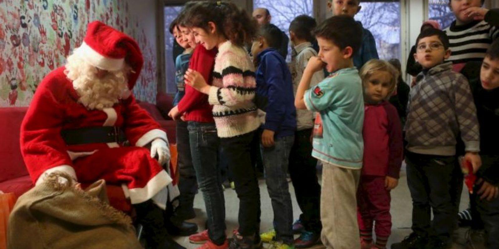 Recientemente, visitó un campo de refugiados. Foto:Getty Images