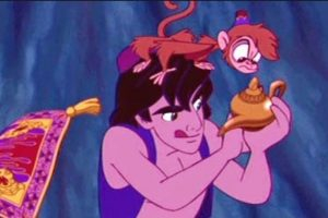 Su suerte cambiará al conseguir un genio que le cumpla deseos. Foto:Disney