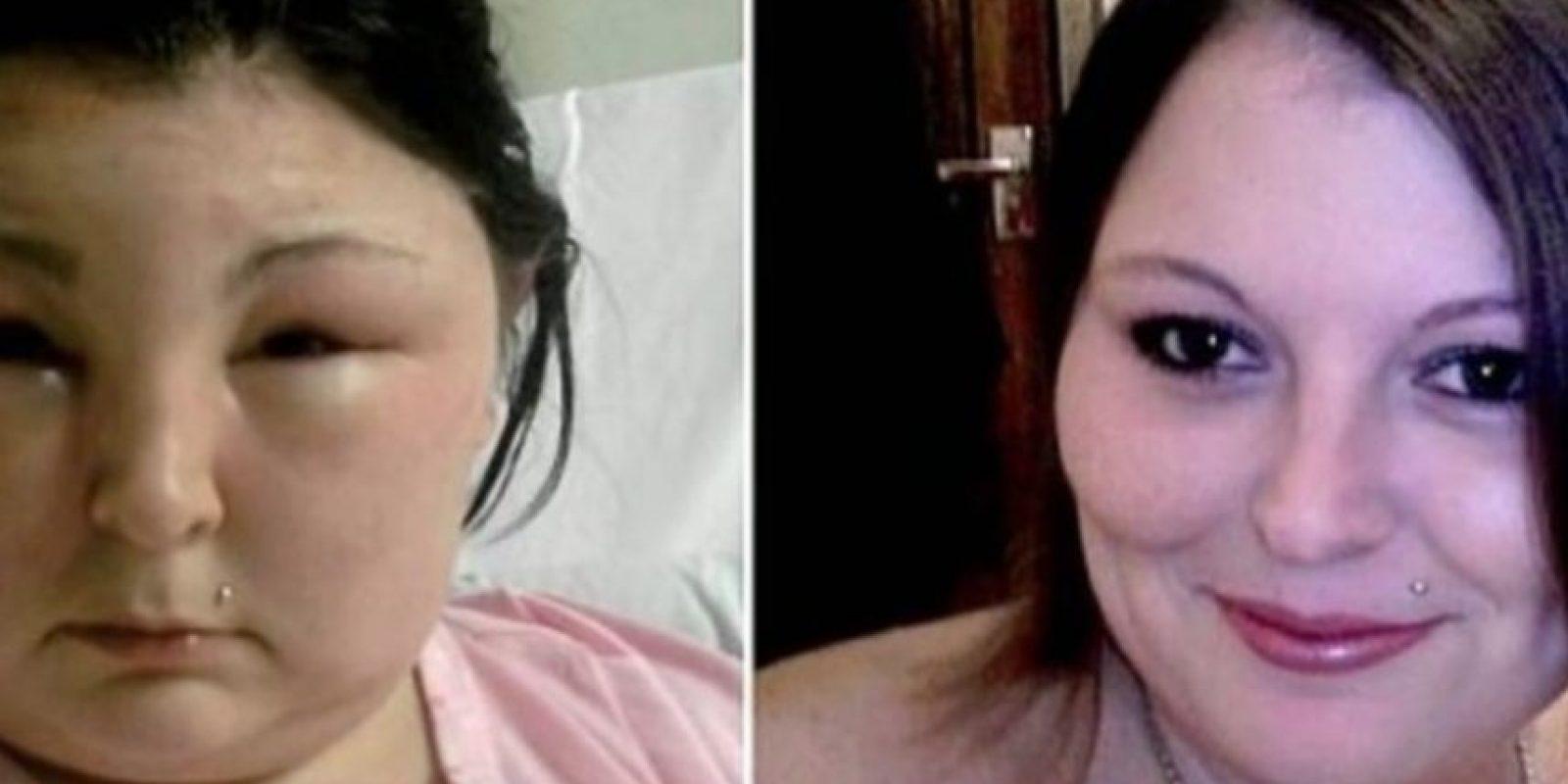 4. Carmen Rowe. Esta mujer de Reino Unido buscaba un cambio y se pintó el cabello. Foto:Vía Youtube