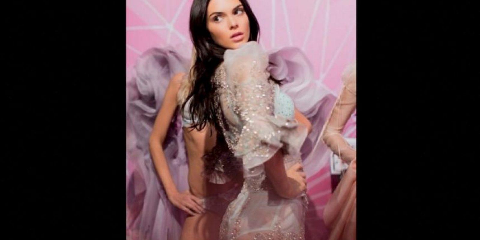 Foto:Kendall Jenner derrocha sensualidad