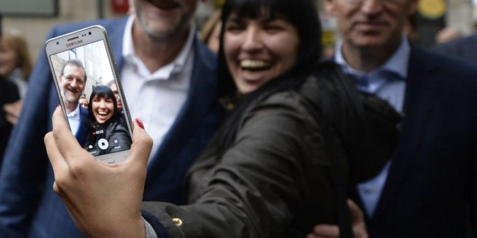 Rajoy apunta para tener una clara victoria. Foto:AFP