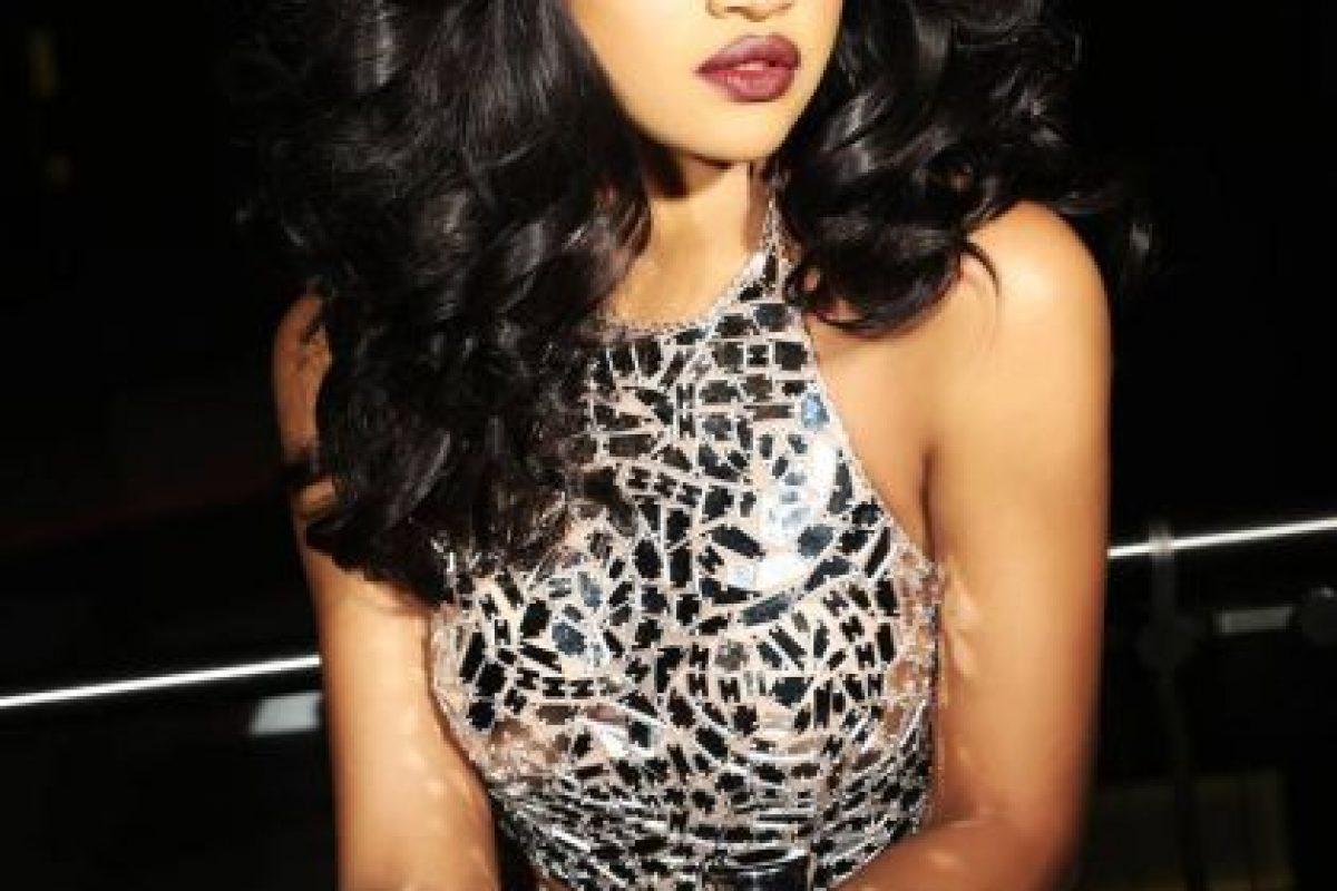 Debbie Collins es Miss Nigeria Foto:vía facebook.com/MissUniverse
