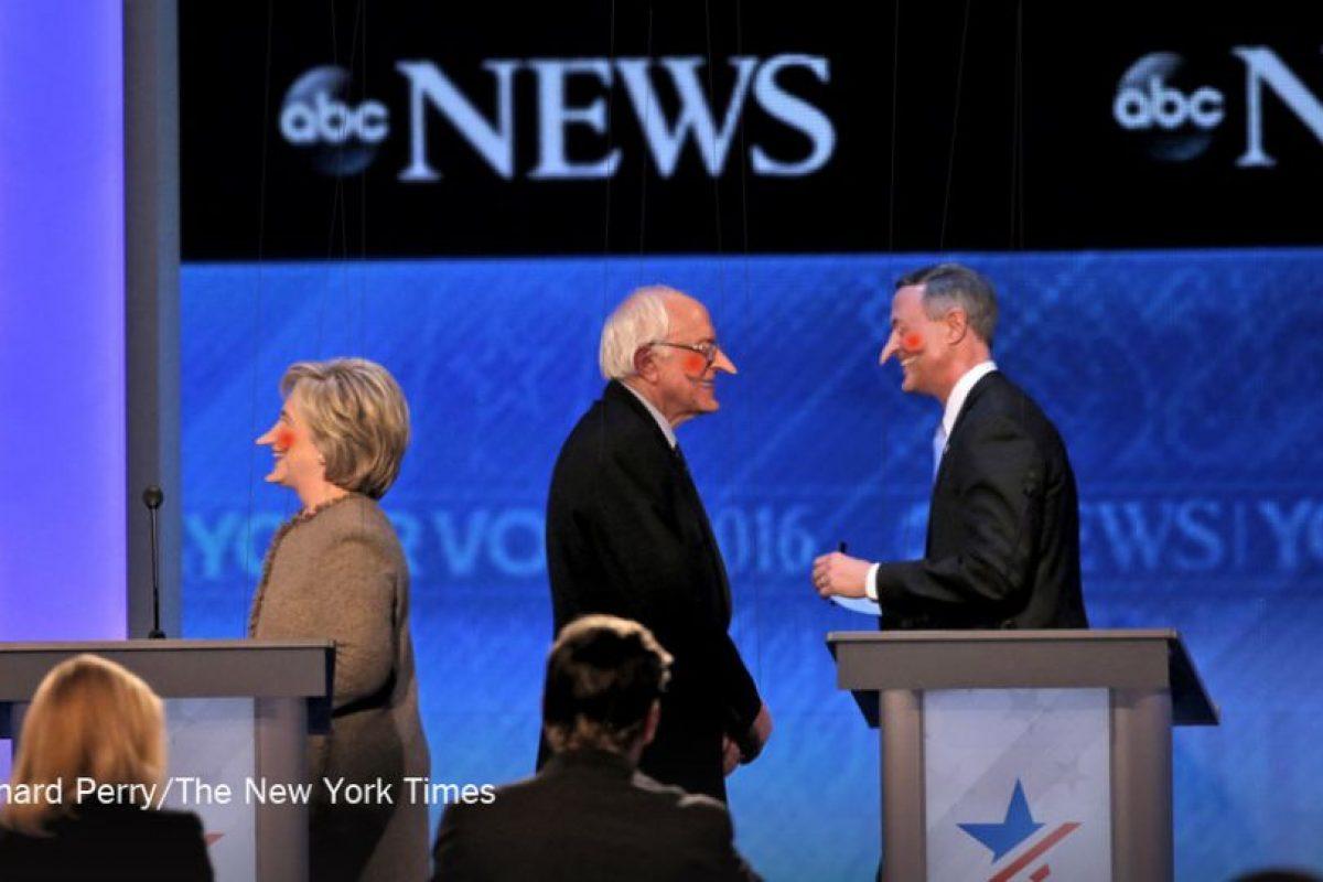 Con estos memes se burlaron de Hillary Clinton y del debate del Partido Demócrata Foto:Imgur / Reddit