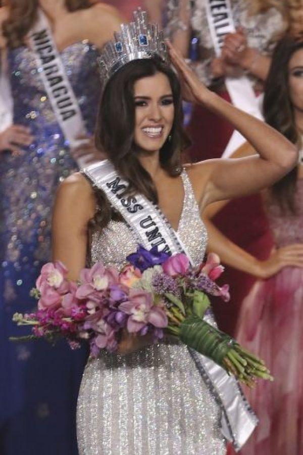 El 25 de enero, Paulina Vega ganó el certamen de Miss Universo. Foto:Getty Images