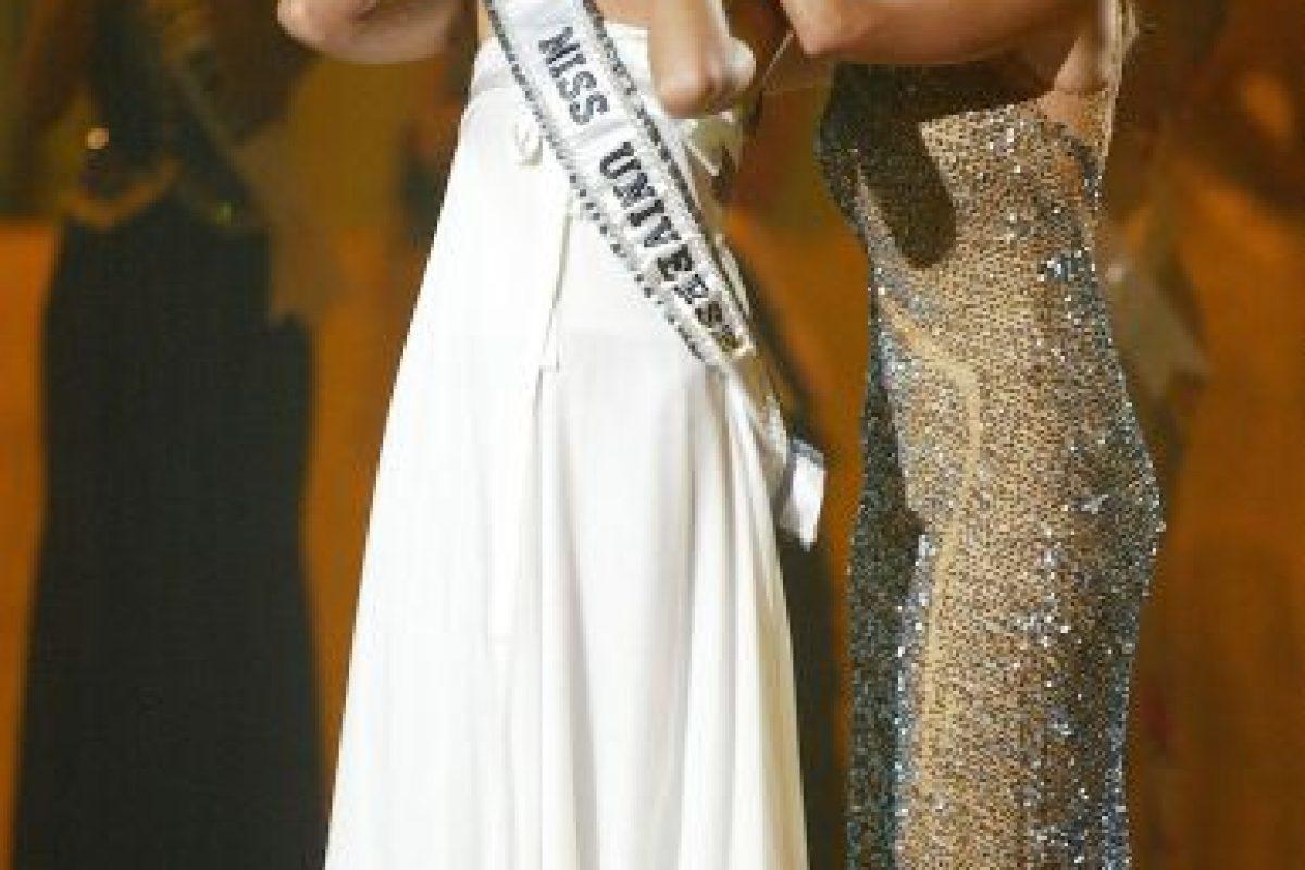 Denise también optó por arreglar su nariz antes del concurso. Foto:Getty Images