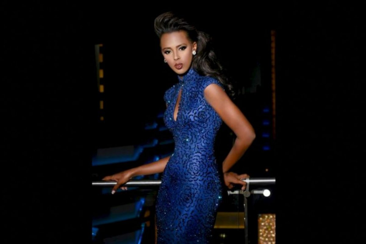 Lorraine Marriot es Miss Tanzania Foto:Facebook.com/MissUniverse