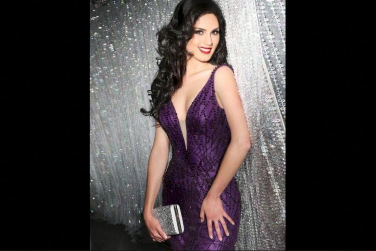 María Belén Jerez es Miss Chile Foto:Facebook.com/MissUniverse