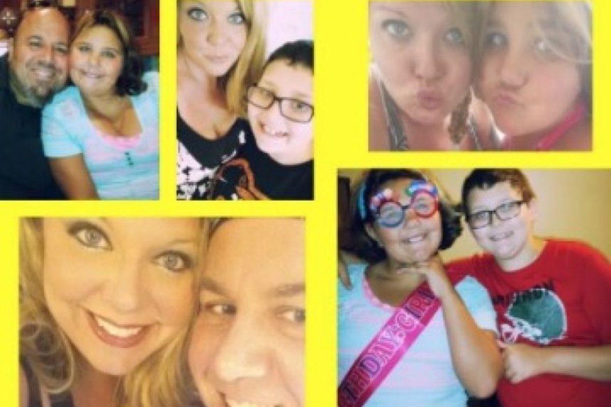 Aquí la familia Adams. Foto:Vía Facebook/nicki.adamsmorton