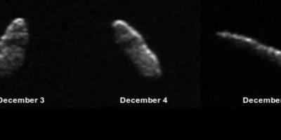 La agencia espacial aseguró que por ahora no representa una amenaza para el planeta. Foto:nasa.gov
