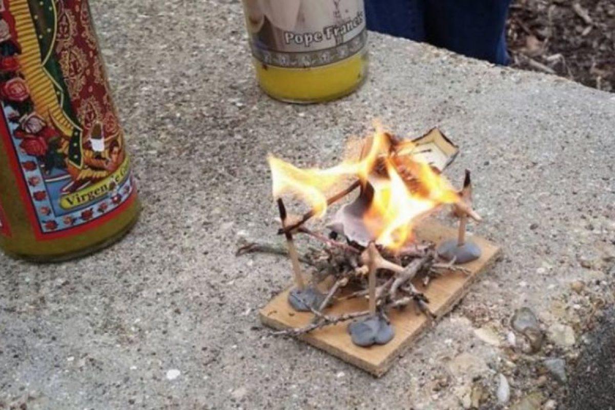 Finalmente, la cucaracha fue incinerada. Foto:Vía Imgur