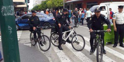 Aún sin detenciones, la nueva policía en bicicleta intensifica los patrullajes