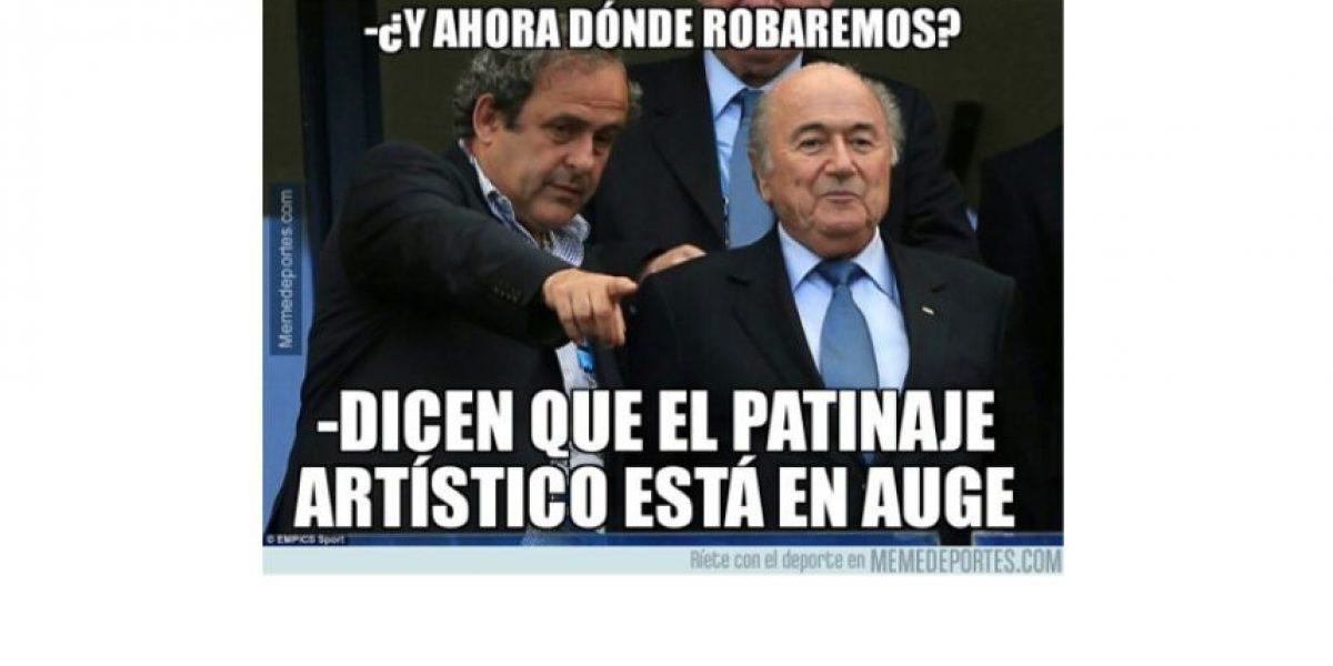 Las mejores burlas tras la suspensión de Blatter y Platini