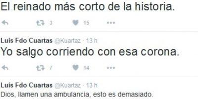Foto:Twitter – Luis Fdo Cuartas
