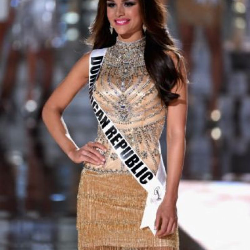 República Dominicana: Clarissa Molina, de 24 años. Originaria de Espaillat Foto:Getty Images