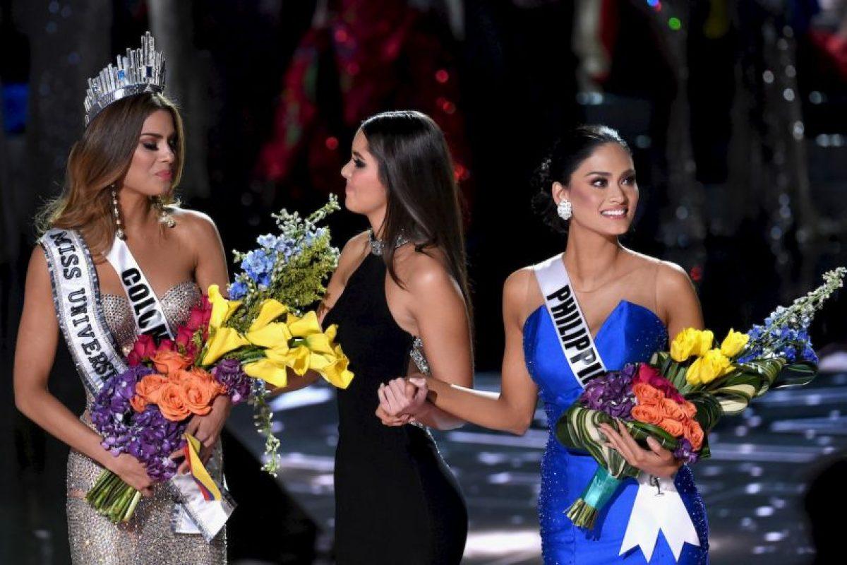 Posteriormente, la corona fue retirada de Miss Colombia Foto:Getty Images