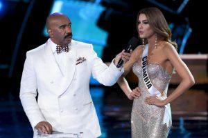 Sin embargo, Steve Harvey cometió un grave error al anunciar a Miss Colombia como ganadora, cuando en realidad la mujer más bella era Miss Filipinas Foto:Getty Images