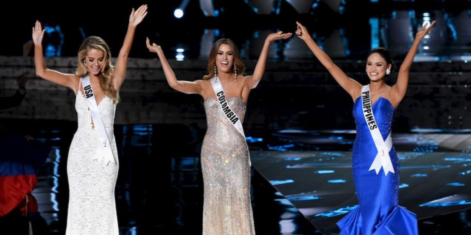 La primer descartada fue Olivia Jons, Miss Estados Unidos Foto: Getty Images