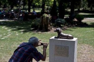 En agosto se erigió una estatua de bronce de tamaño real de Leo en su honor, en Pancevo una ciudad Serbia. Foto:AP