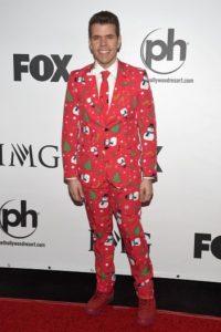 Su traje de Navidad no pudo pasar desapercibido. Foto:Getty Images