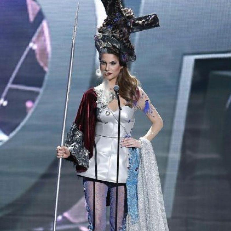 Ese sombrero perecía un poco sospechoso Foto:Miss Universo