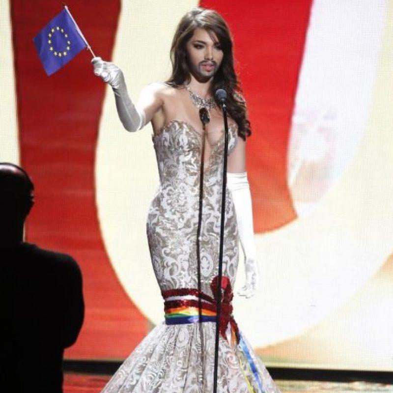 El bigote de Conchita Wurst Foto:Miss Universo