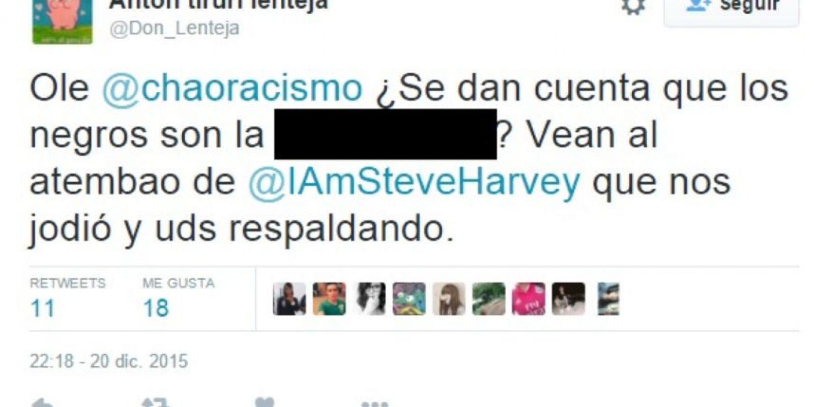 Incluso algunos tuitearon a organizaciones que defienden sus derechos en Colombia. Foto:vía Twitter
