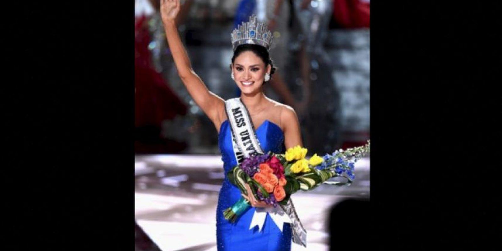 A pesar de eso, Pía Alonzo es la nueva Miss Universo 2015 Foto:Getty Images