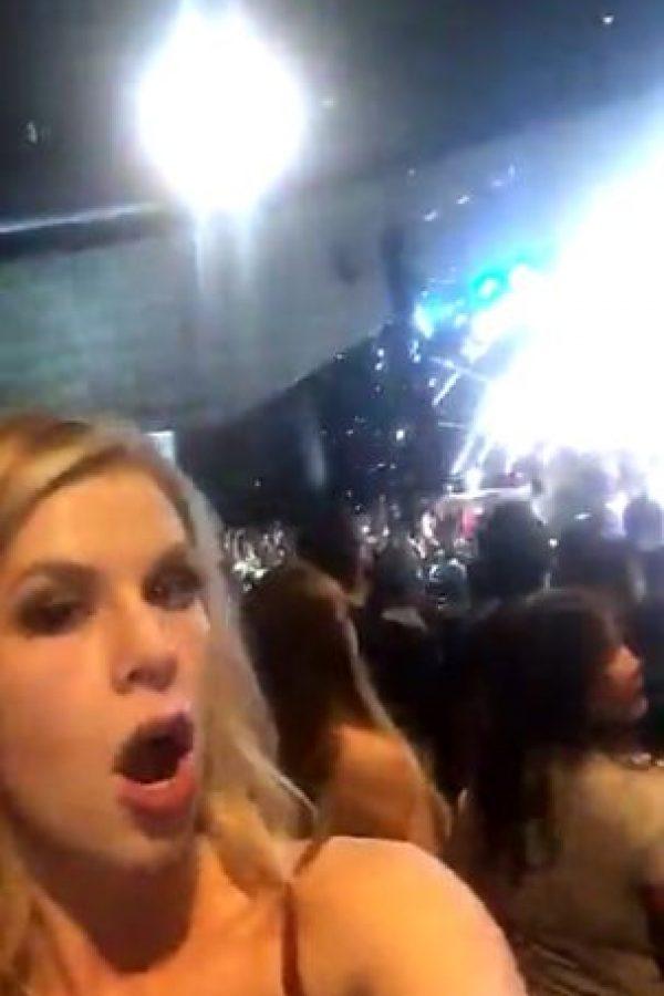 Así la reacción en Las Vegas Foto:Snapchat – Miss Universe