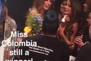 Mis Colombia sigue siendo una ganadora Foto:Snapchat – Miss Universe