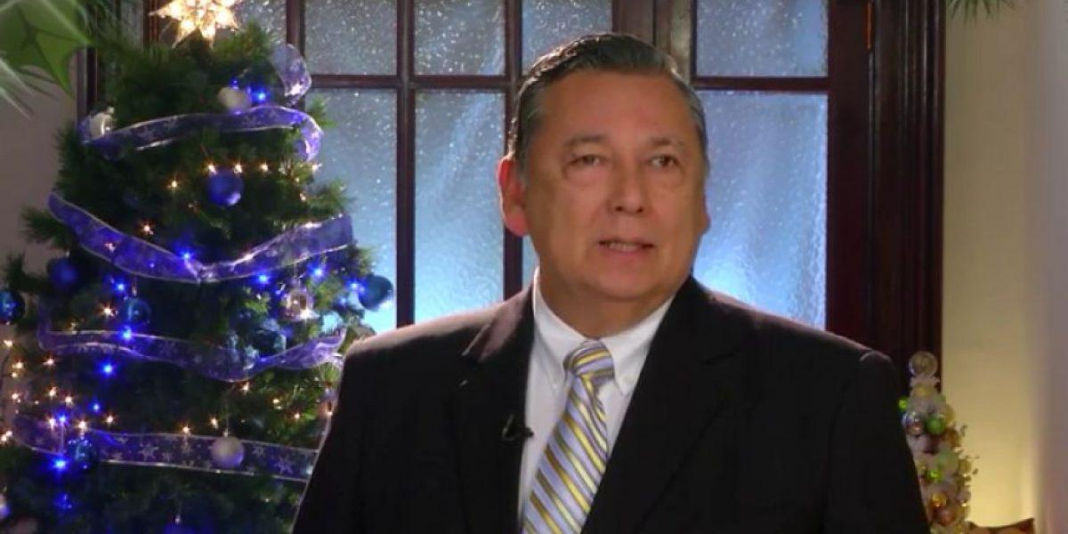 En mensaje navideño, Fuentes Soria destaca que,