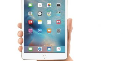 3- iPad mini 4. Foto: Apple