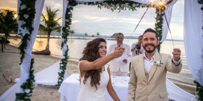 Fotos. La guatemalteca Ania tuvo una boda de ensueño
