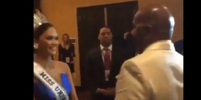 ¡Tras bambalinas! Esto fue lo que ocurrió entre Harvey y Miss Filipinas minutos después...