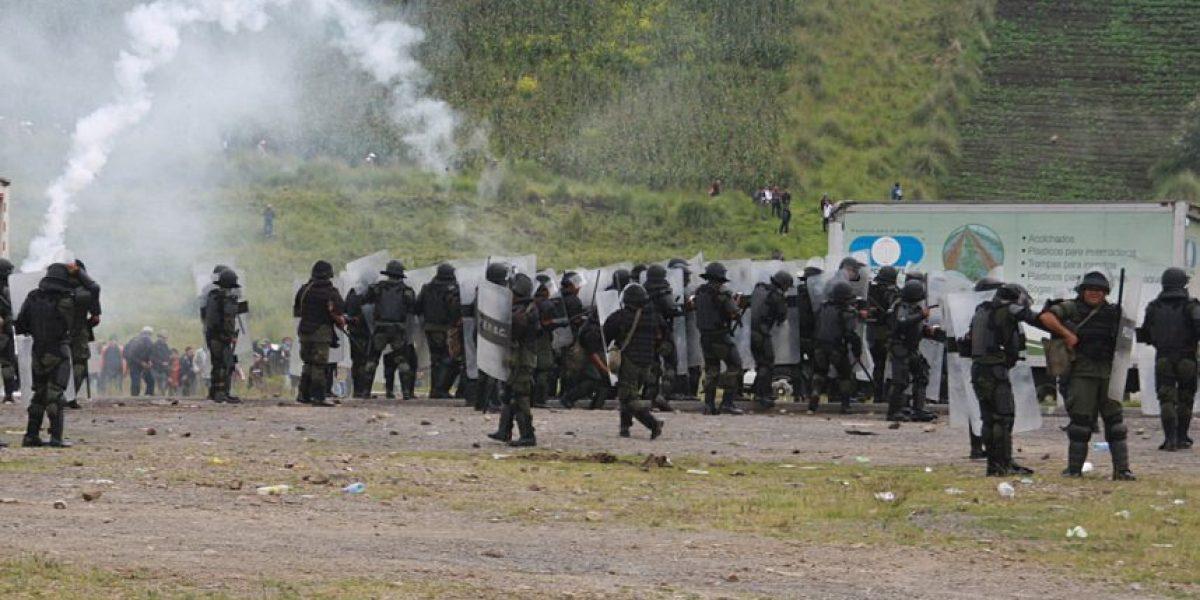 Coronel y 7 soldados implicados en el desalojo en la cumbre de Alaska seguirán en prisión