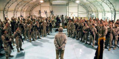 Y donde 90 miembros de las fuerzas de seguridad murieron en los últimos dos días Foto:Getty Images