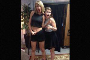 """4. El famoso ombligo """"inexistente"""" de Taylor Swift Foto:Instagram/taylorswift"""