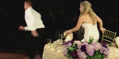 4. Bombero interrumpe su boda para salvar a hombre que se ahogaba Foto:YouTube – Archivo
