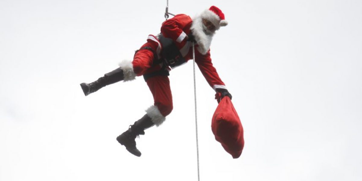 """Santa Claus: """"Hay más beneficio y satisfacción en dar que en recibir"""""""