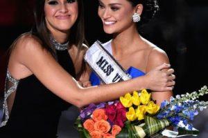 Pia Wurtzbach era la ganadora de Miss Universo. Foto:Getty Images