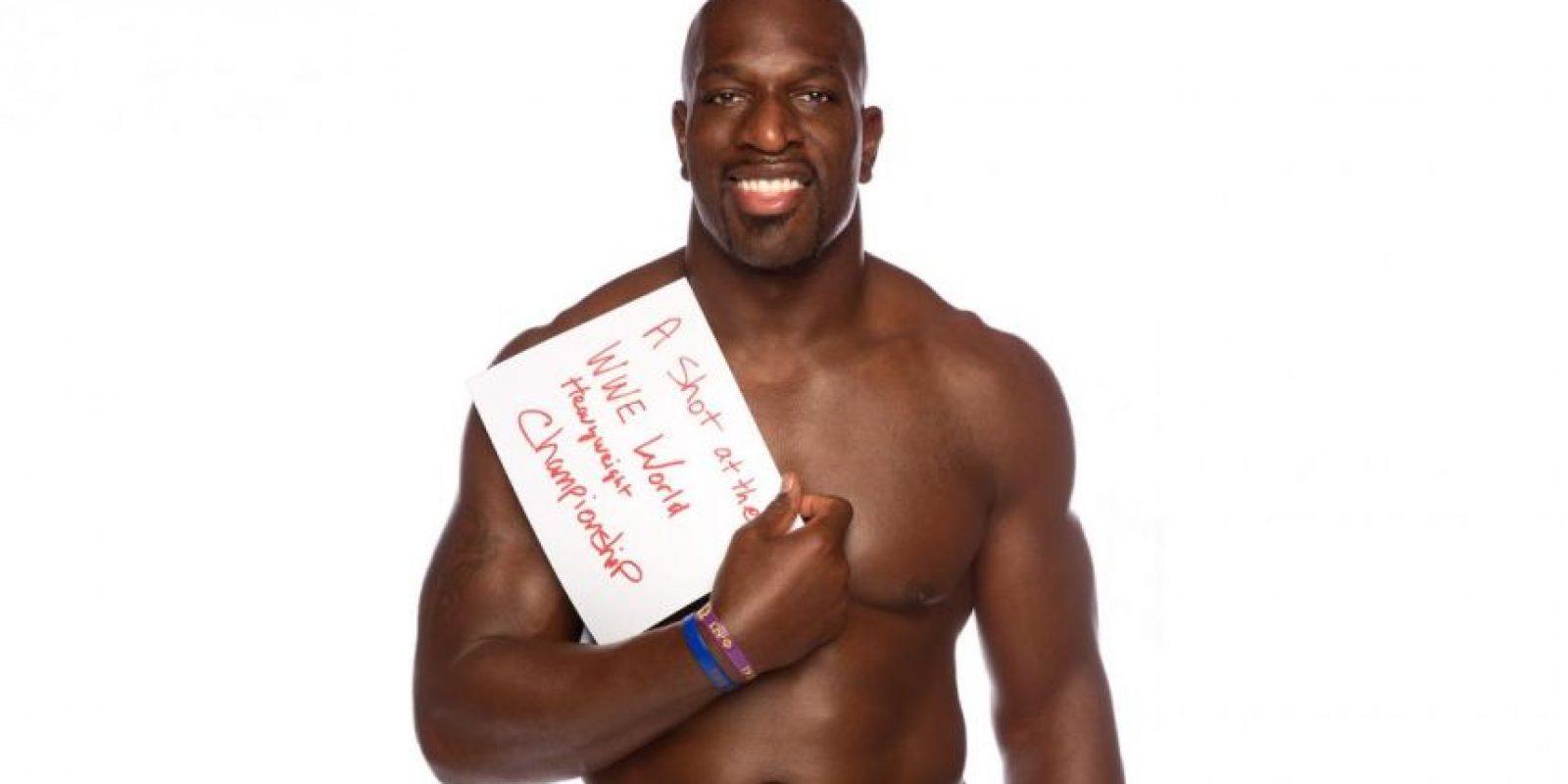 El poderoso luchador desea una oportunidad por el Campeonato Mundial de Peso Pesado Foto:WWE