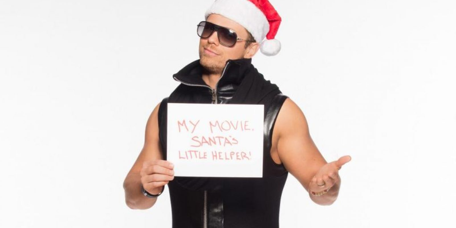 "The Miz quiere su película ""Santa's little helper"" Foto: WWE"