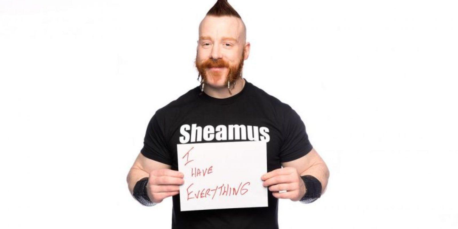 Sheamus asegura que no necesita nada Foto:WWE