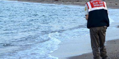 La muerte de Aylan Kurdi, el pequeño de tres años ocurrió en septiembre pasado. Foto:AP