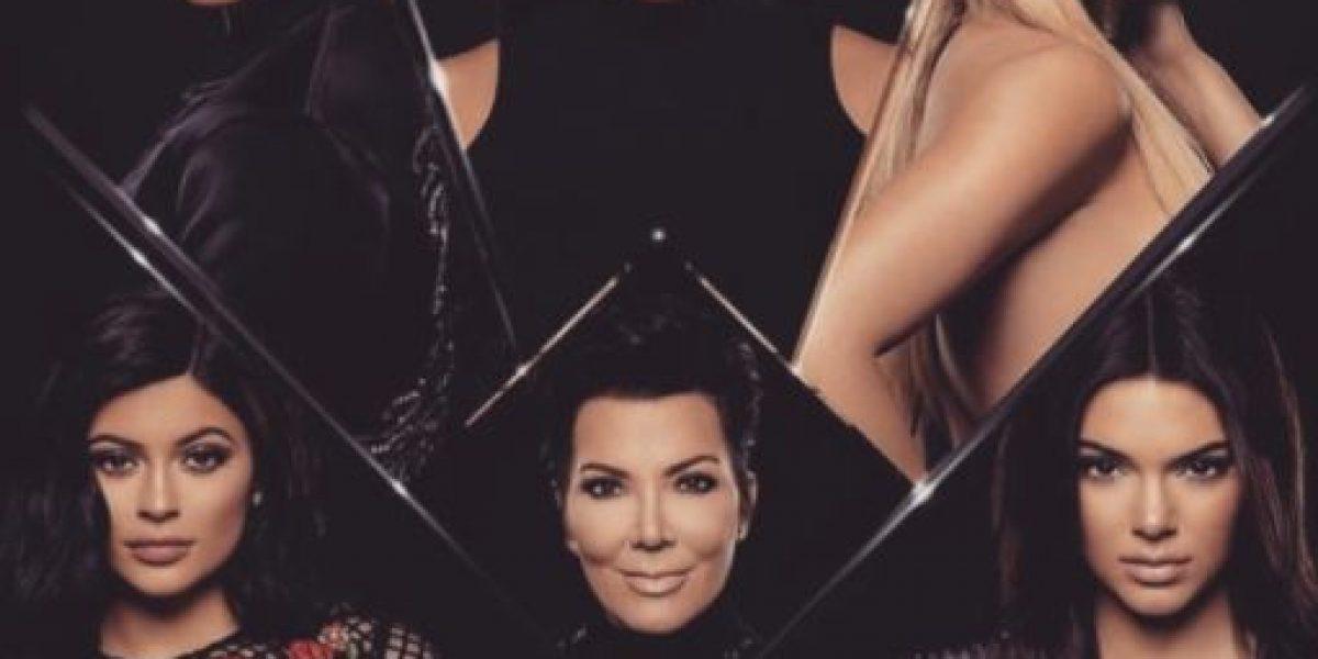 Esta es la adorable postal navideña de la familia Kardashian